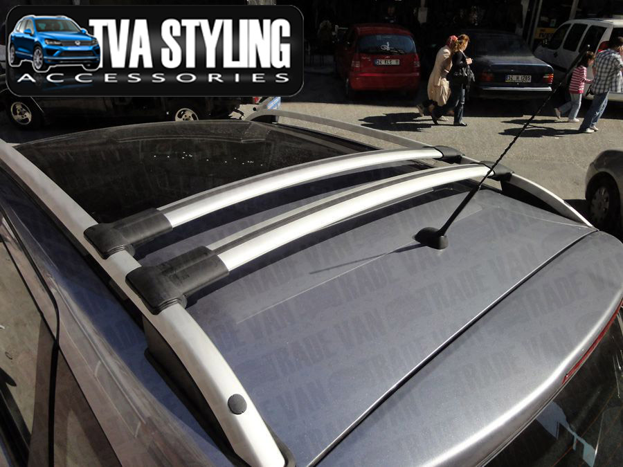 Our TX3 Diamond cross bar set for VW T6 are a stylish and practical addition for your Van. Buy online at TVA Styling.