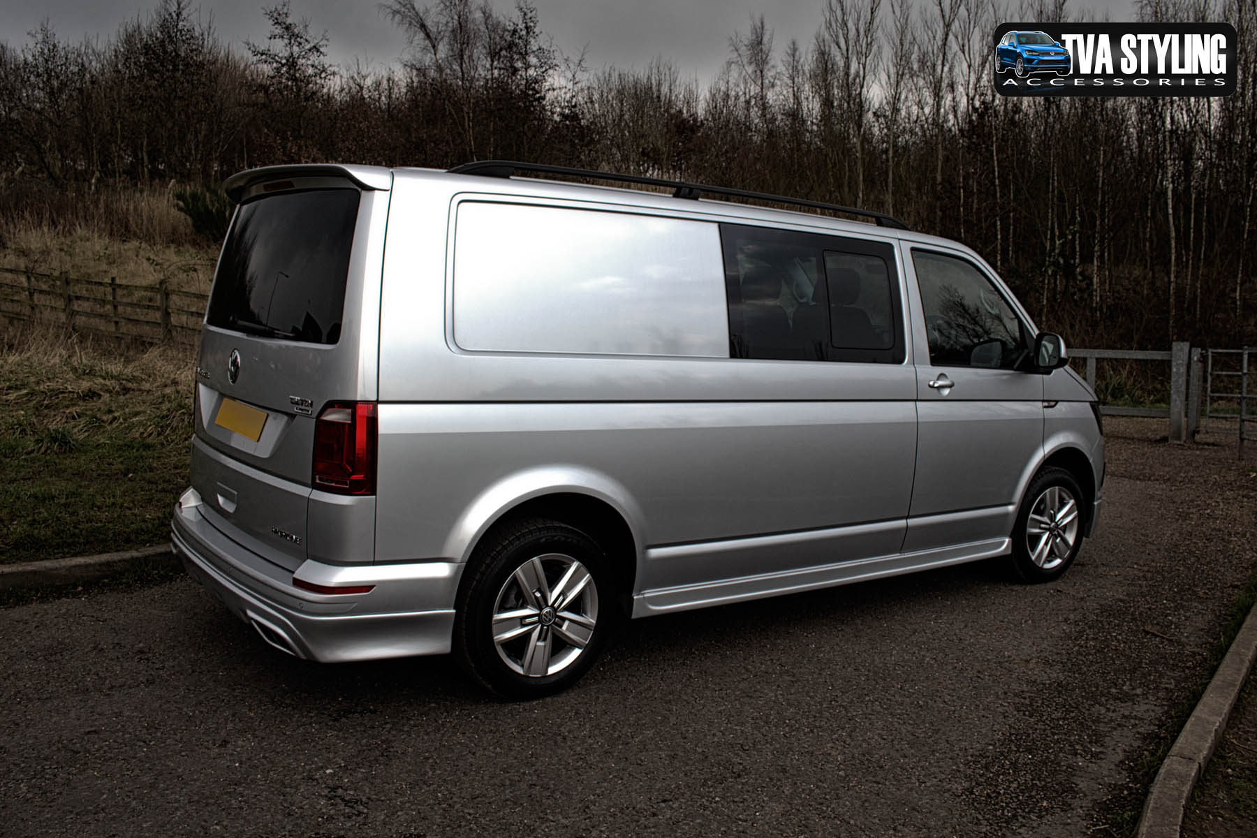 vw t6 bodykit transporter body styling tva styling. Black Bedroom Furniture Sets. Home Design Ideas