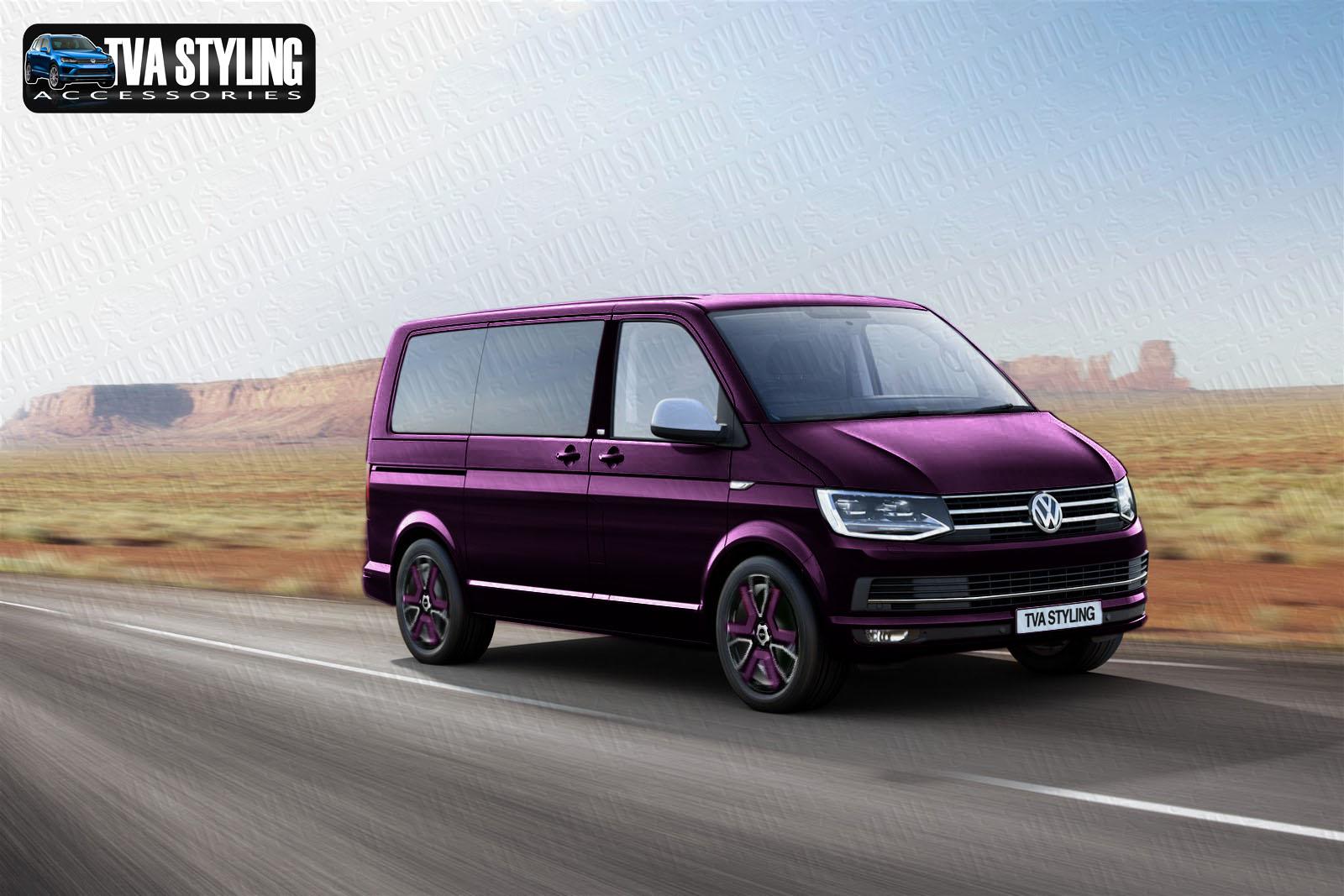 vw transporter t6 alloy wheels in vw colour tva styling. Black Bedroom Furniture Sets. Home Design Ideas