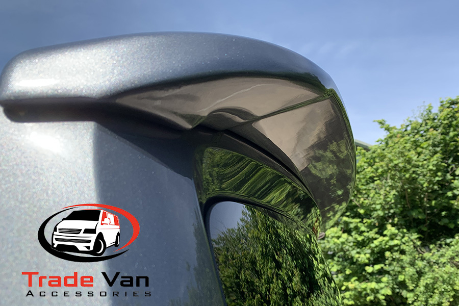 VW T6 Transporter Rear Tailgate Spoiler from Trade Van Accessories