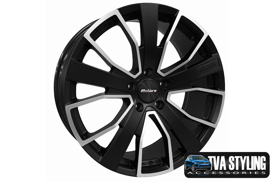 "VW T6 Transporter Kensington Matt Black 20"" Alloy Wheels Alloys Set of 4"