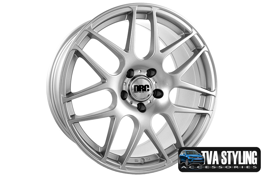 "VW T6 Transporter DRM Silver 18"" Alloy Wheels Alloys Set of 4"