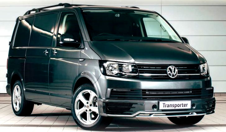 VW T6 TVA Sportline Front Spoiler