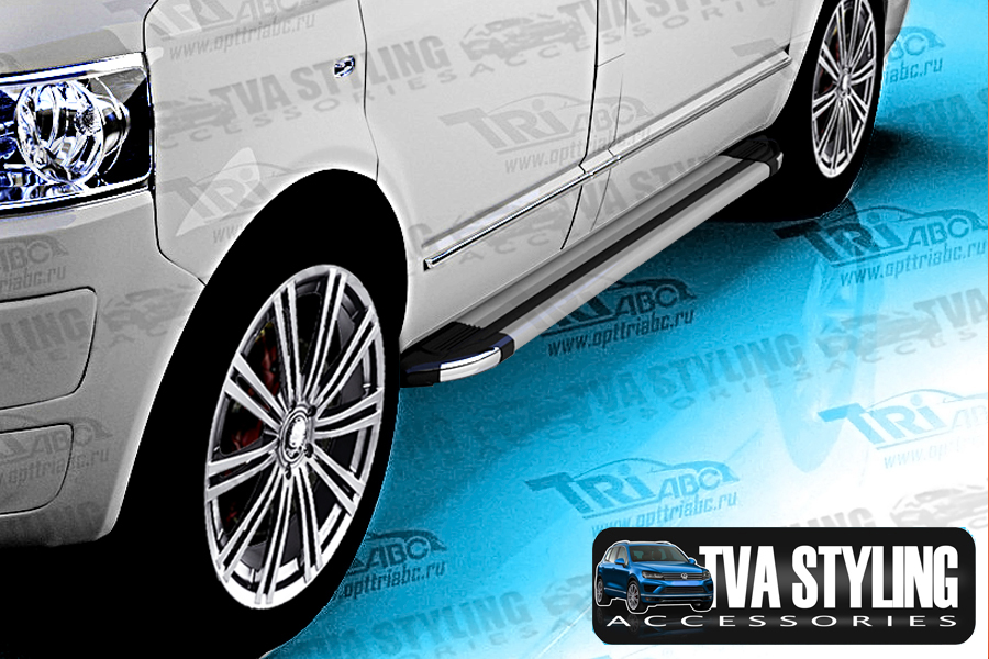 VW Transporter-T5 Side Steps and Running Boards from TVA Styling, Trade Van accessories. Buy now at TVA Styling