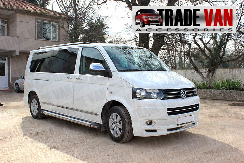 Vw T5 Tx R Side Bars Volkswagen Transporter Side Styling