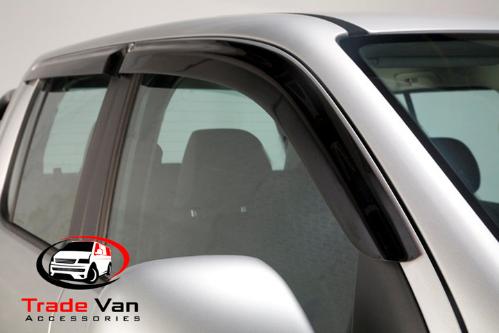 Dark Tint Wind Deflectors Set of 4