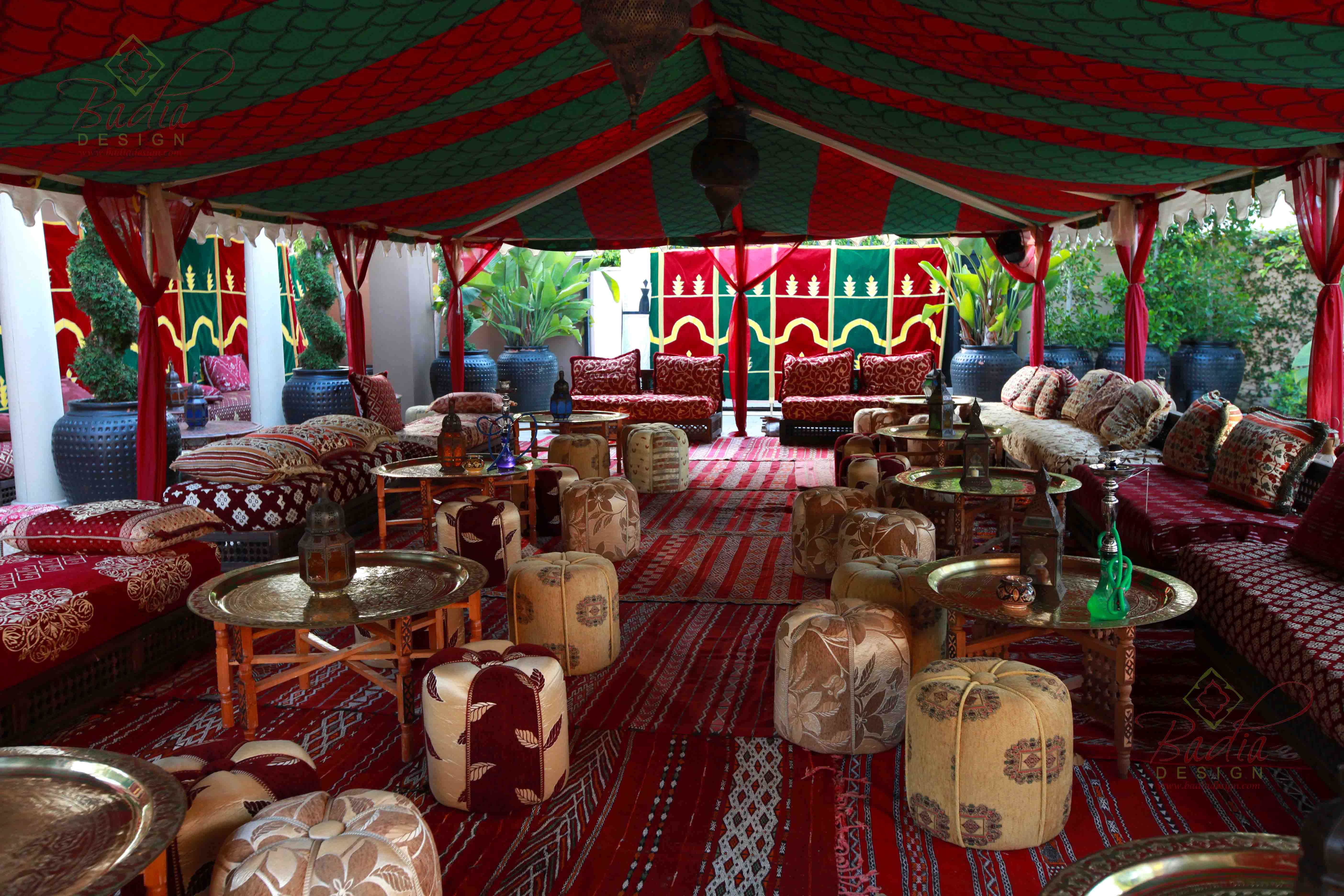 Arabian Nights Themed Party Rentals Los Angeles from Badia Design Inc.