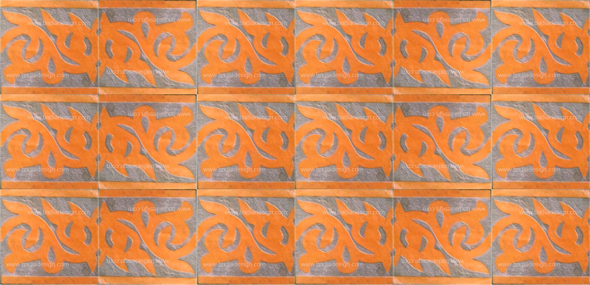 Hand Chiseled Tile from Badia Design Inc.