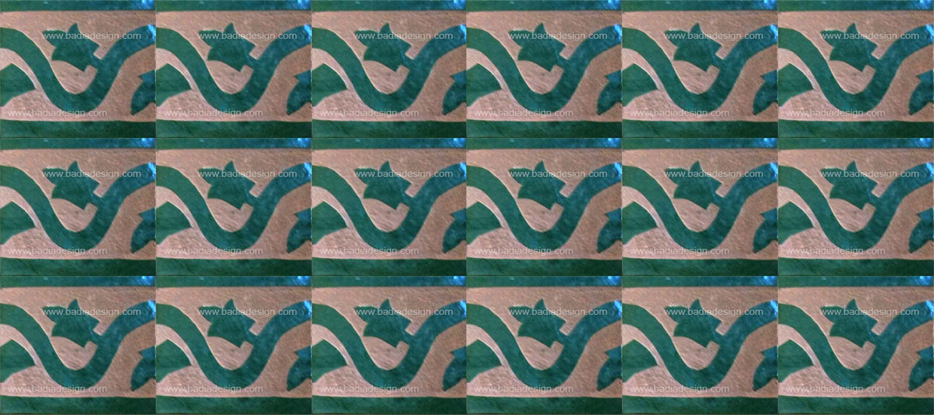 Hand Chiseled Tile