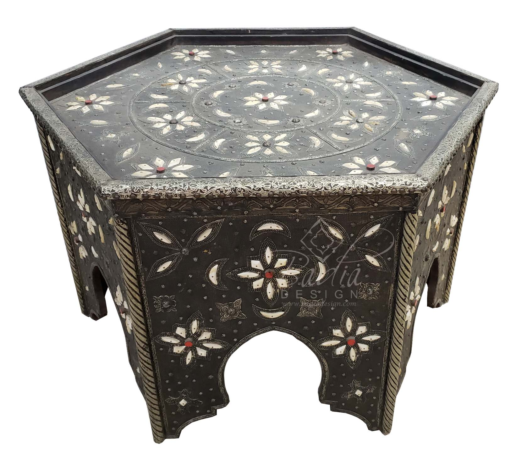 hexagon-shaped-metal-and-bone-coffee-table-mb-ct015.jpg