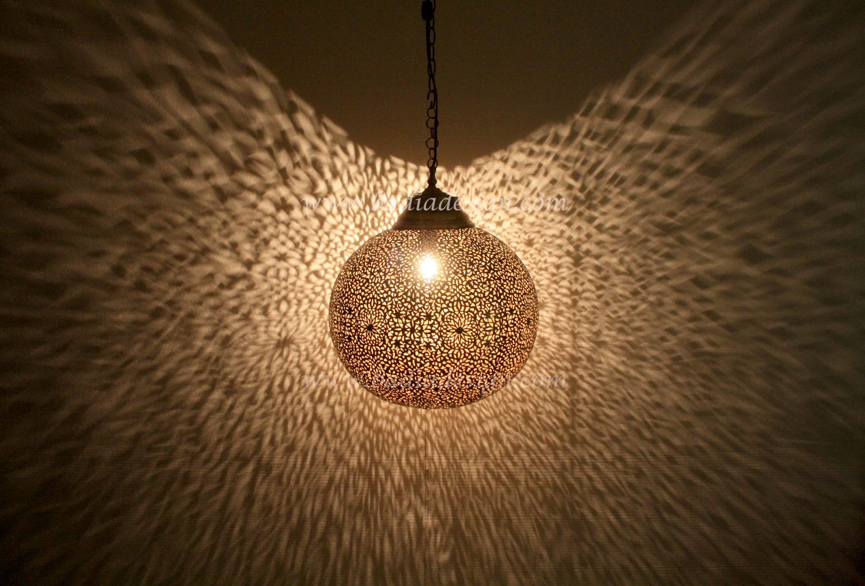Moroccan Brass Ball Lantern