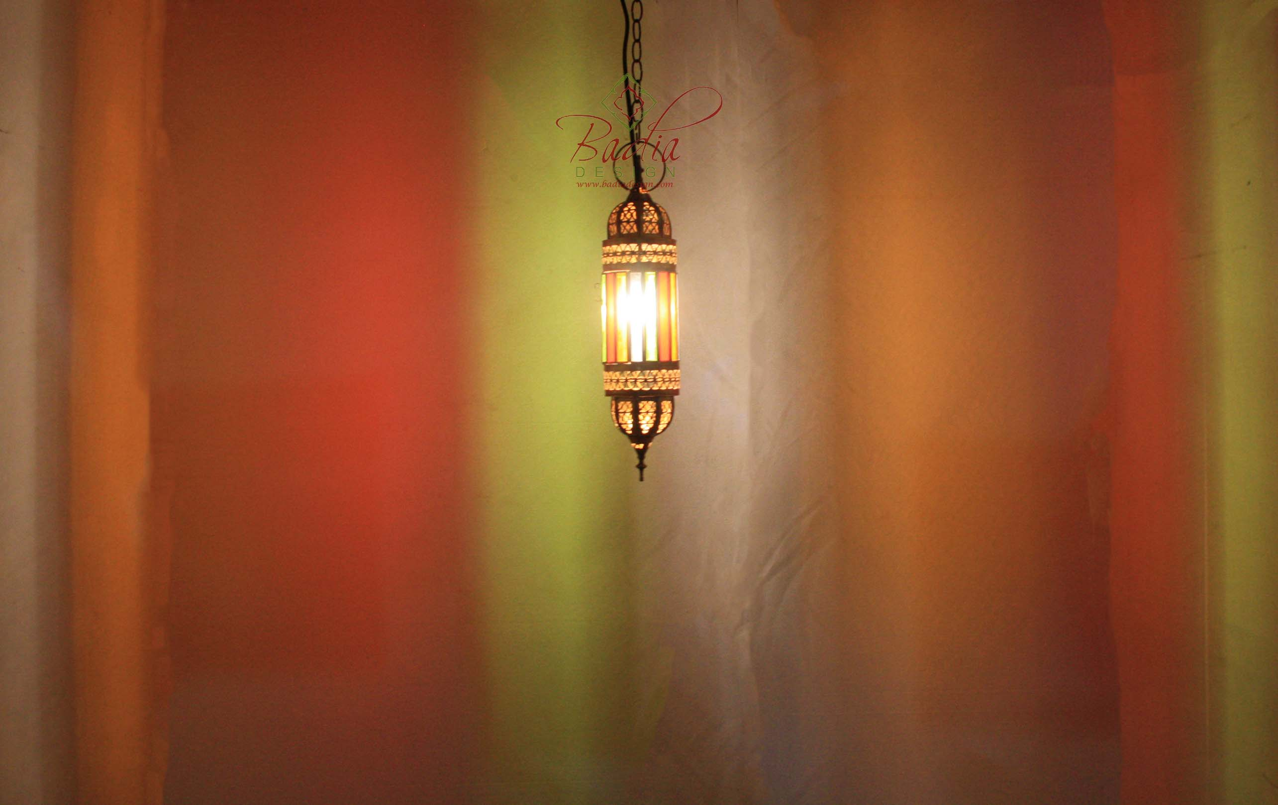 moroccan-brass-pendant-lantern-with-multi-color-glass-lig342-2.jpg