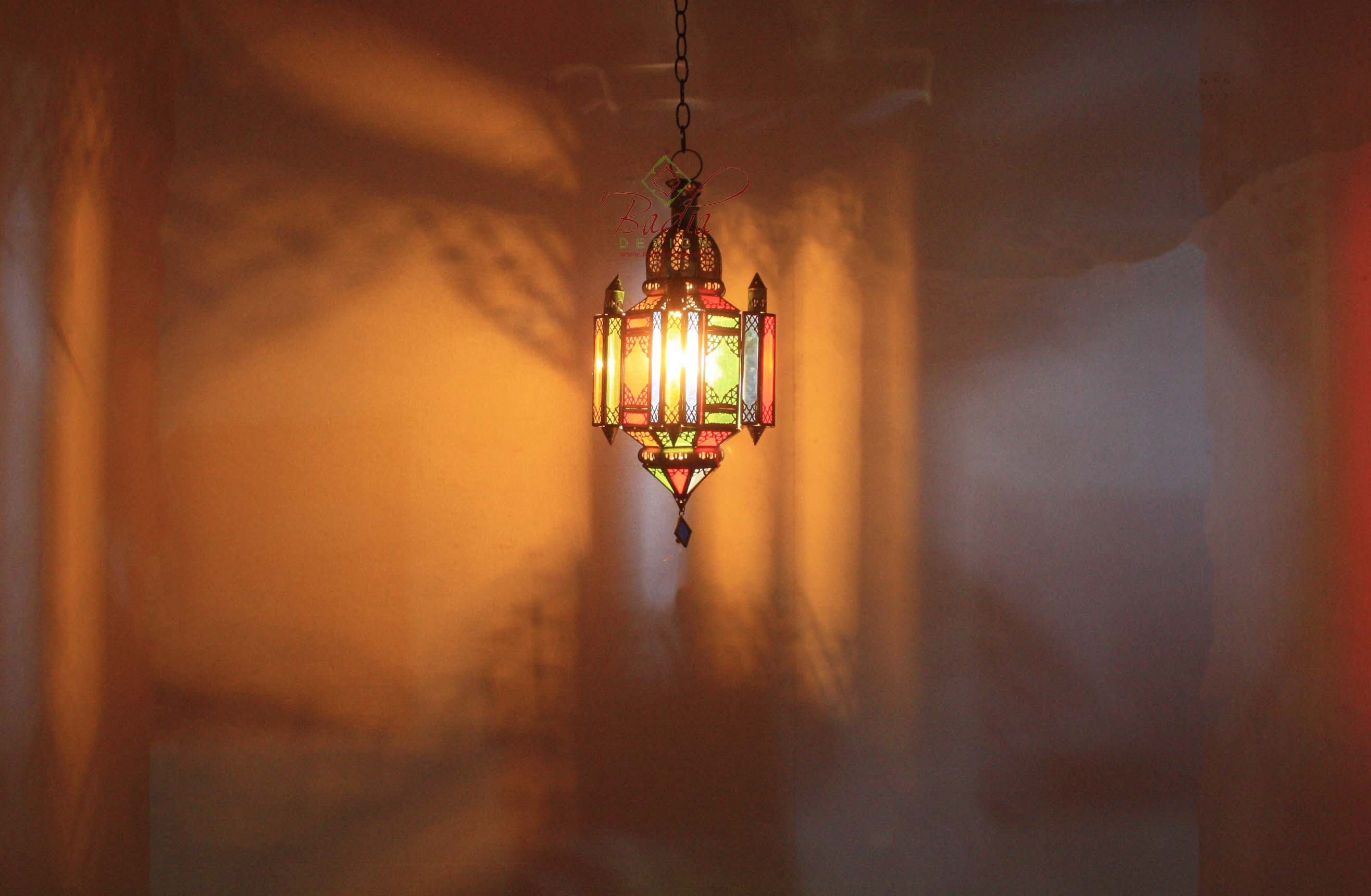 moroccan-hanging-brass-lantern-with-multi-color-glass-lig340-2.jpg