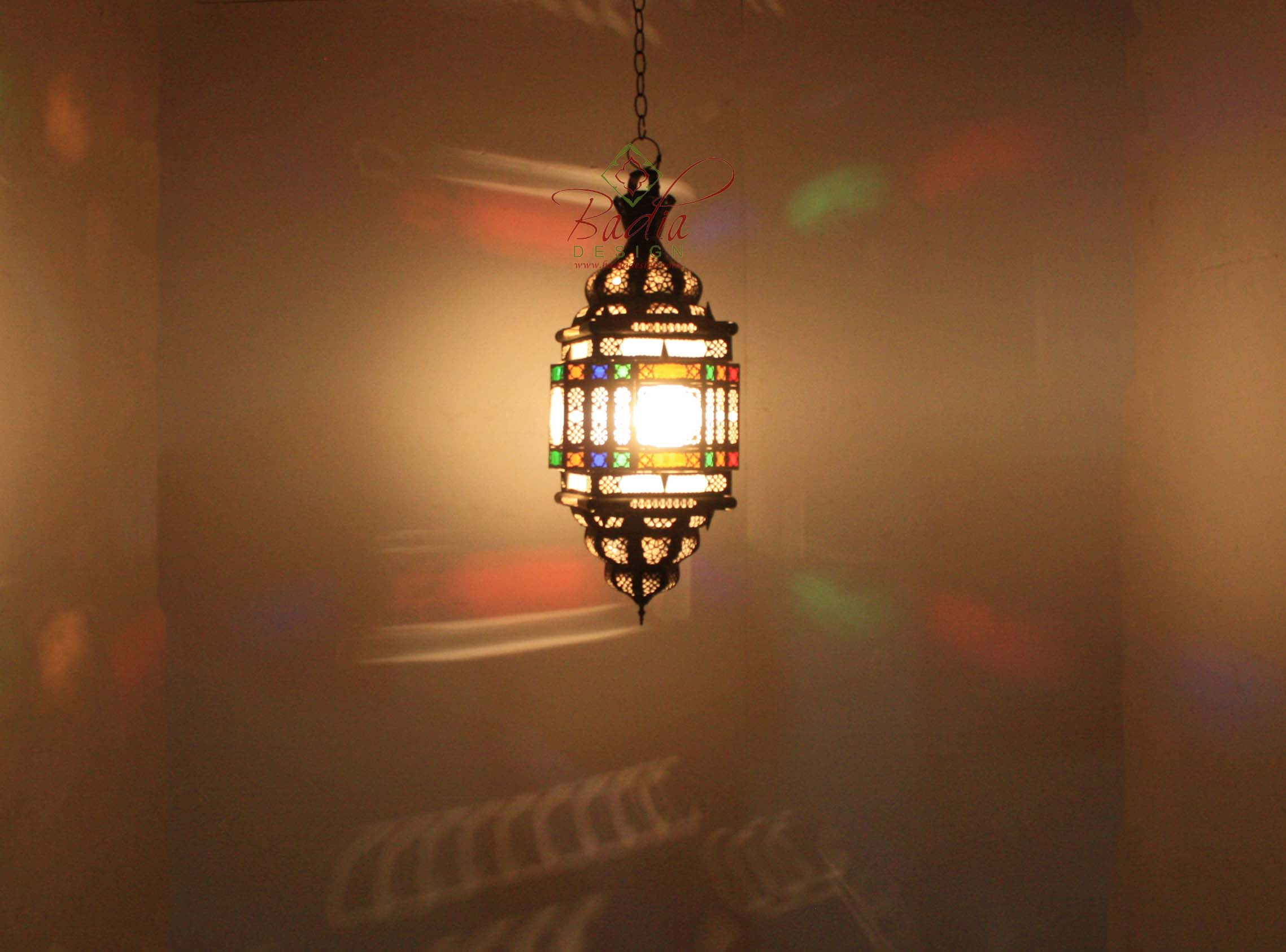 moroccan-hanging-brass-lantern-with-multi-color-glass-lig344-2.jpg