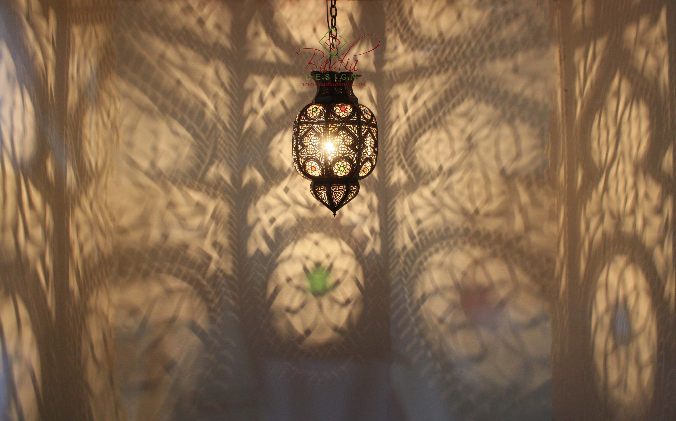 moroccan-hanging-lantern-with-multi-color-glass-lig337-1.jpg