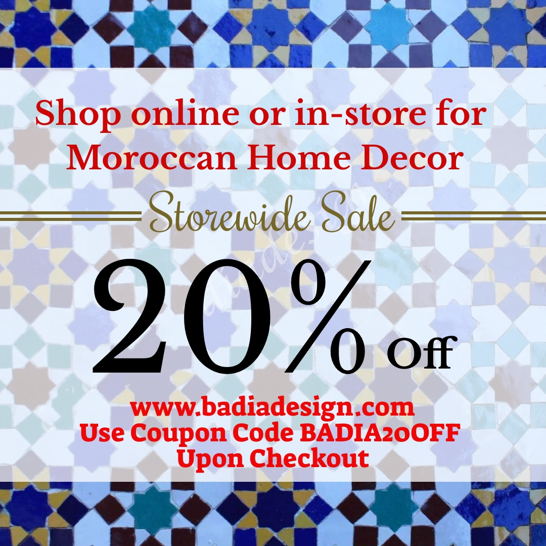 Moroccan Home Decor Sale