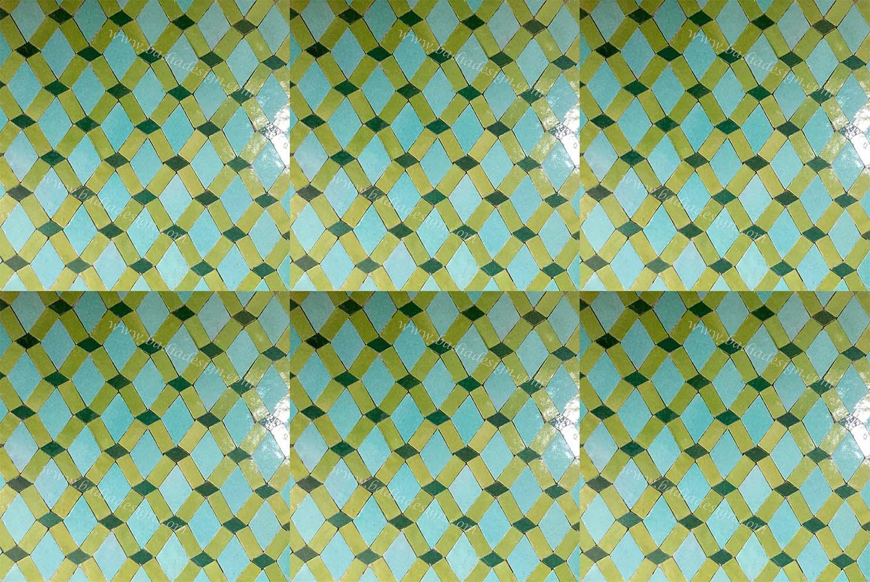 Morocan Mosaic Ceramic Tile