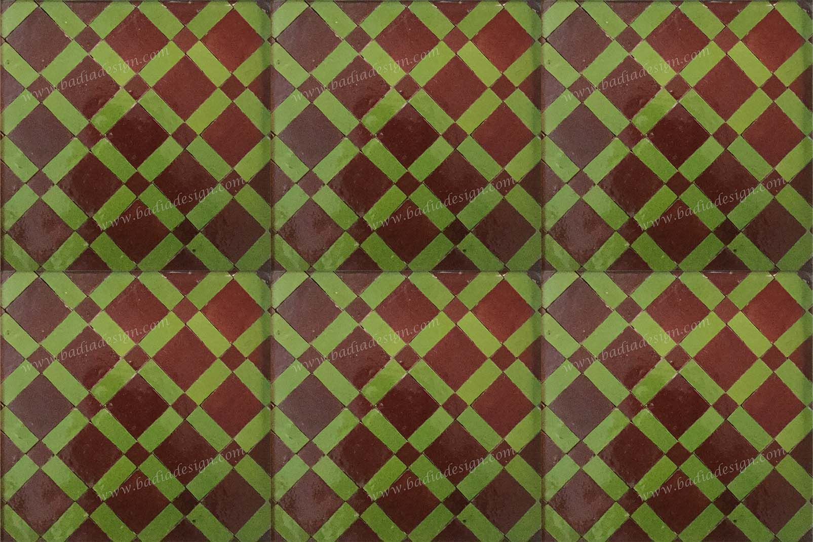 Moroccan Mosaic Ceramic Tile