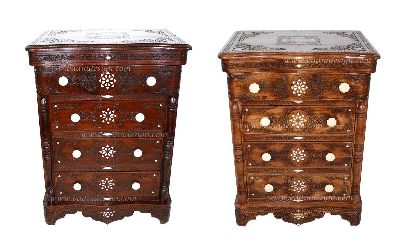 Moroccan Wooden Dresser