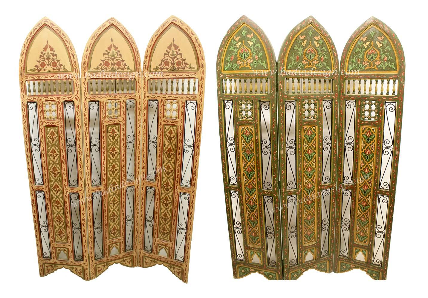 Moroccan Wooden Screen