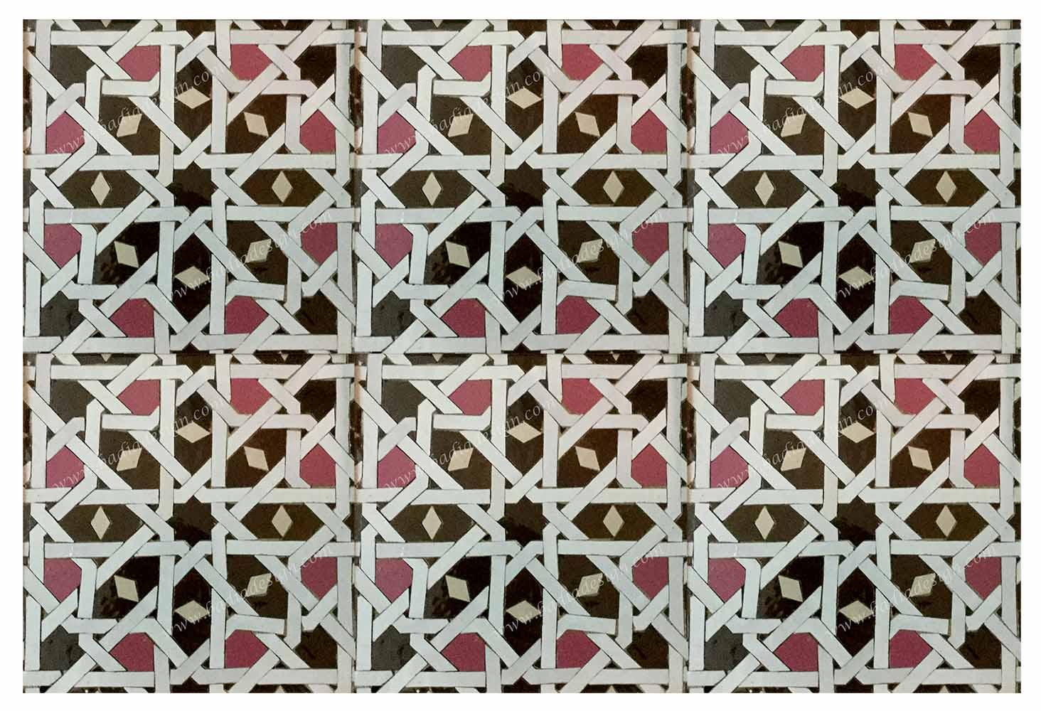 Moroccan Mosaic Floor Tile