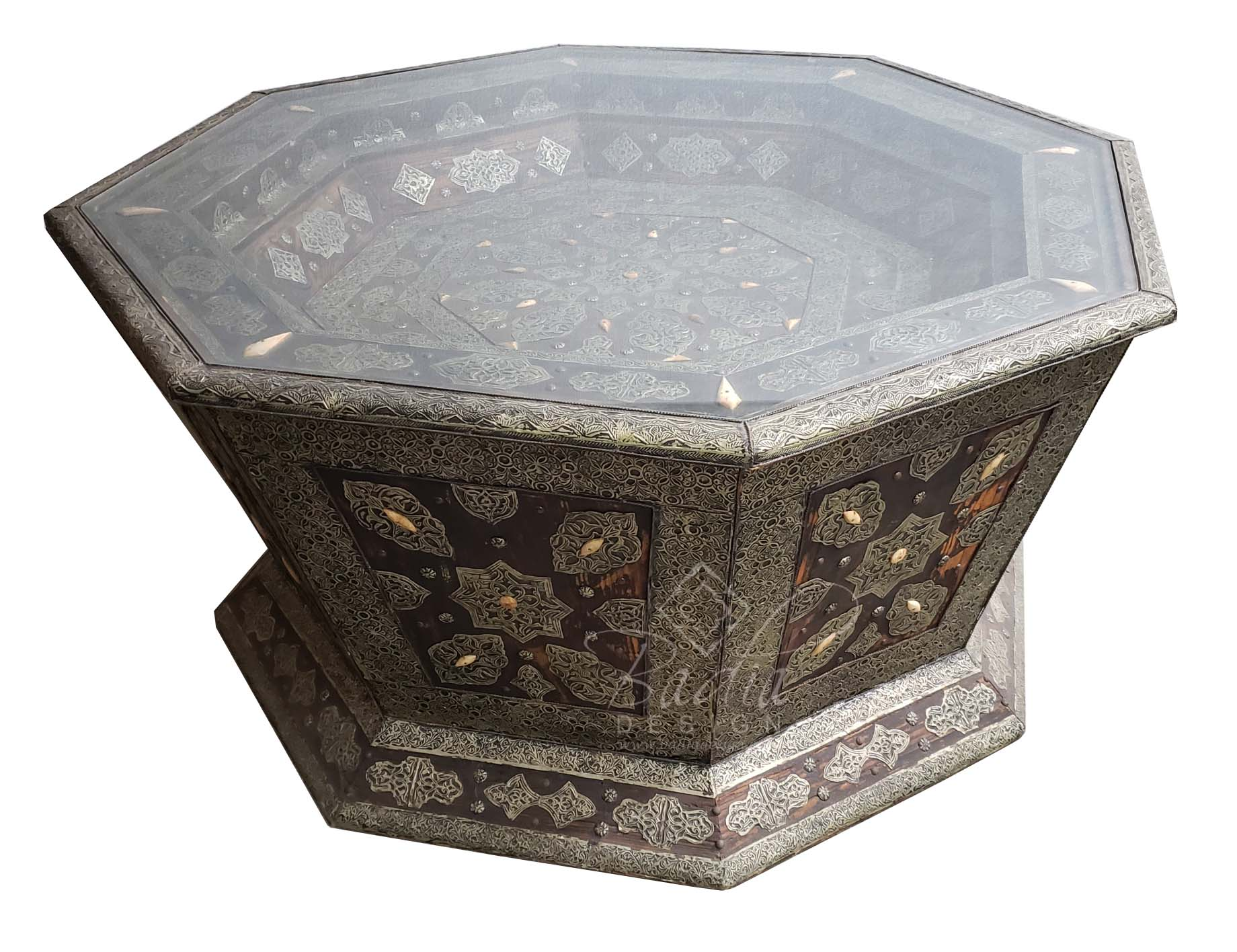 octagon-shaped-metal-and-bone-table-with-glass-top-mb-ct010-1.jpg