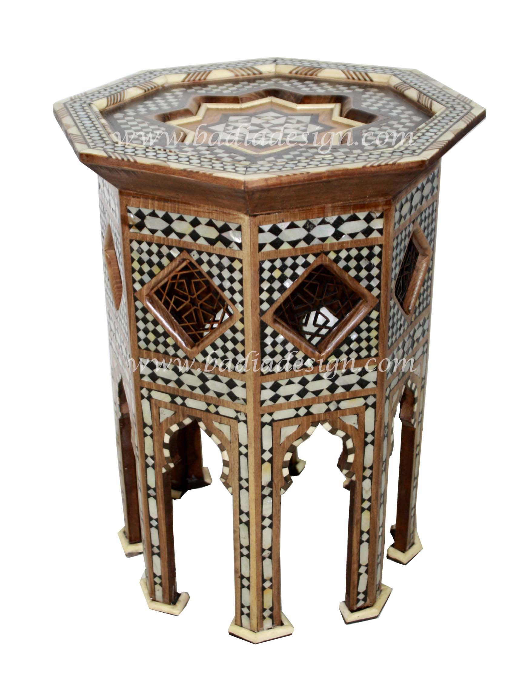 Syrian Design Side Table