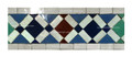 Moroccan Mosaic Border Tile - BT017