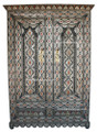 Metal and Bone Armoire - MB-CA008