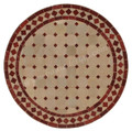 Moroccan Round Tile Table Top - MTR209