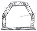 Wrought Iron Wall Shelf - IP010