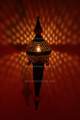 Moroccan Wall Sconce with Metal and Ceramic Ball - WL001L