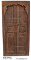 Hand Carved Wooden Door - CWD001