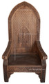 Hand Carved Wood Chair CW-CH004