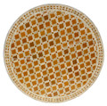 39 Inch Moroccan Mosaic Tile Table Top - MTR315