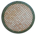 39 Inch Moroccan Mosaic Tile Table Top - MTR316