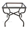 Square Wrought Iron Table Base - TB17