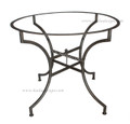 Moroccan Round Wrought Iron Table Base - TB22
