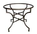 Round Wrought Iron Table Base - TB23