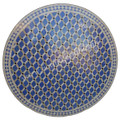 48 Inch Moroccan Mosaic Tile Table Top - MTR420
