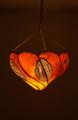 Orange Color Henna Lantern HL002
