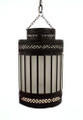 White Frosted Glass Lantern LG001