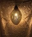 Hanging Brass Lantern - LL095