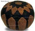 Round Leather Ottoman - RLP006
