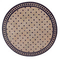 32 Inch Round Mosaic Tile Table Top - MTR220