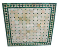 28 Inch Moroccan Square Tile Table Top - MT731