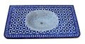 Moroccan Mosaic Sink Top - MS019