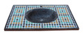 Moroccan Mosaic Tile Sink - MS020