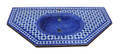Moroccan Mosaic Tile Sink - MS025