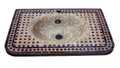 Moroccan Mosaic Tile Sink - MS029